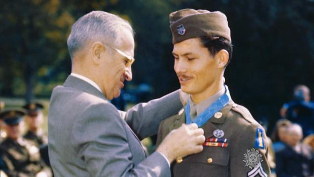 Desmond Doss y Harry Truman | Wikimedia Commons