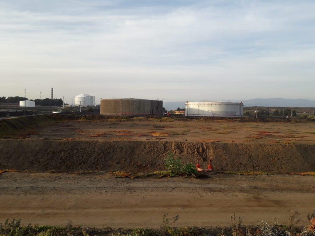 Terminal Marítimo ENAP Quintero, donde se almacenó el crudo iraní.