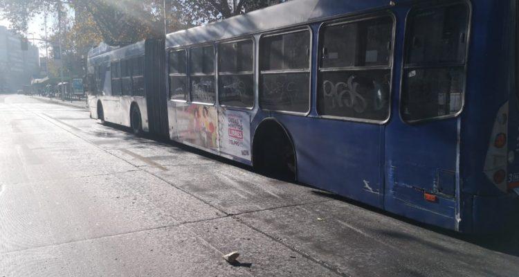 Bus que perdió una rueda | Christian Borcoski | RBB