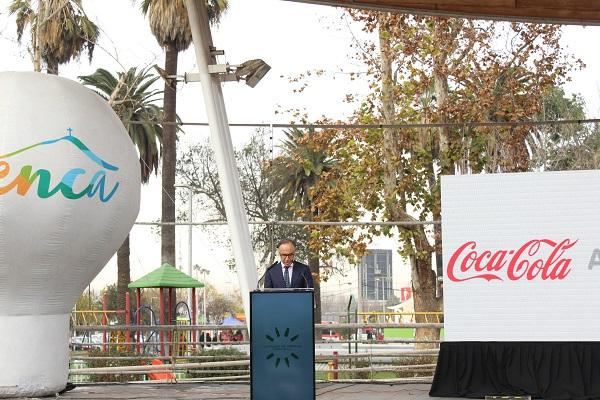 Lanzamiento campaña   José Luis Solórzano, gerente general de Coca- Cola Andina
