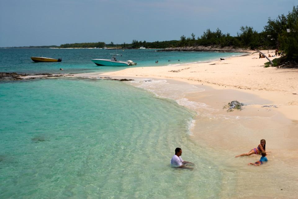 Playas de Rose Island