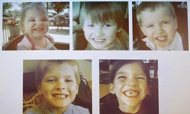 Hijos de Timothy Jones | Daily Mail