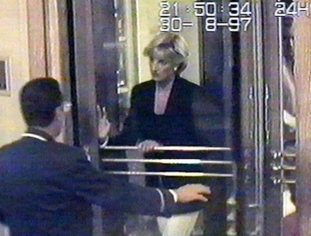 La última foto de la princesa Diana con vida