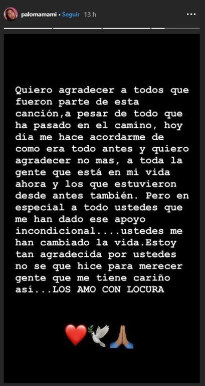 Stories Paloma Mami