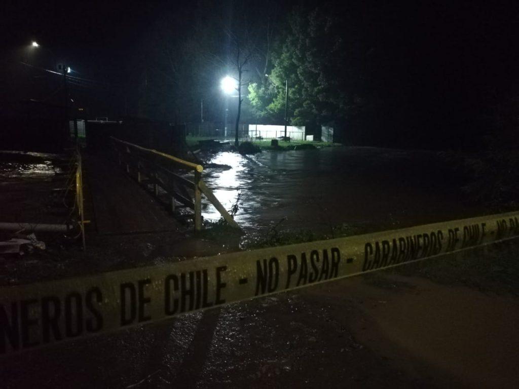 Río Bellavista en sector Los Tilos