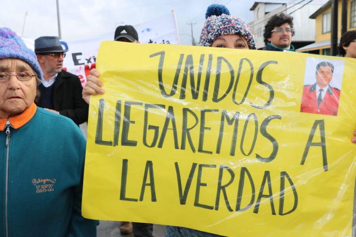 Marcha por Jorge Mancilla en Chiloé
