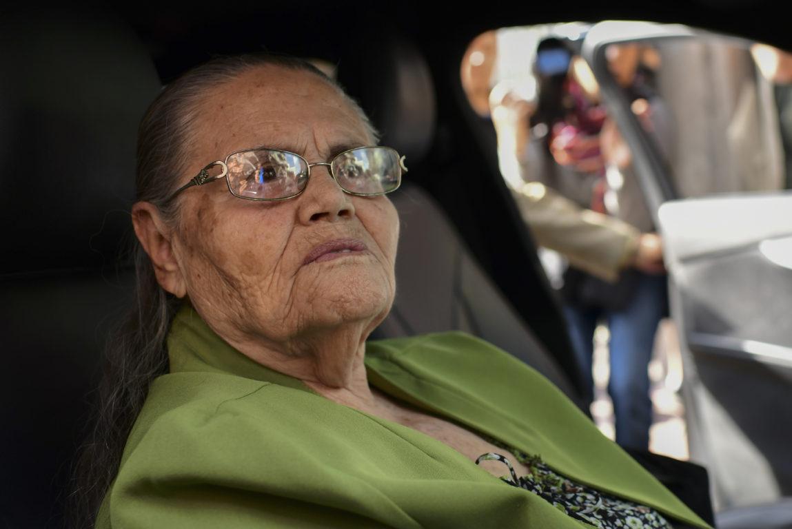 María Loera/ Madre de El Chapo/  AFP)