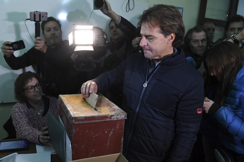 Luis Lacalle Pou | AFP