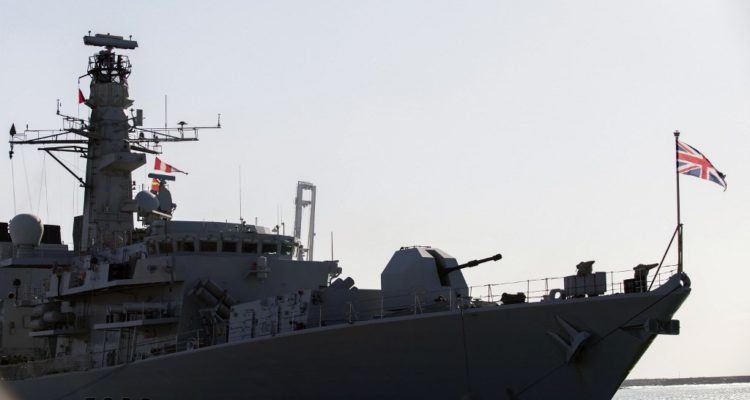 HMS Montrose | Agence France-Presse