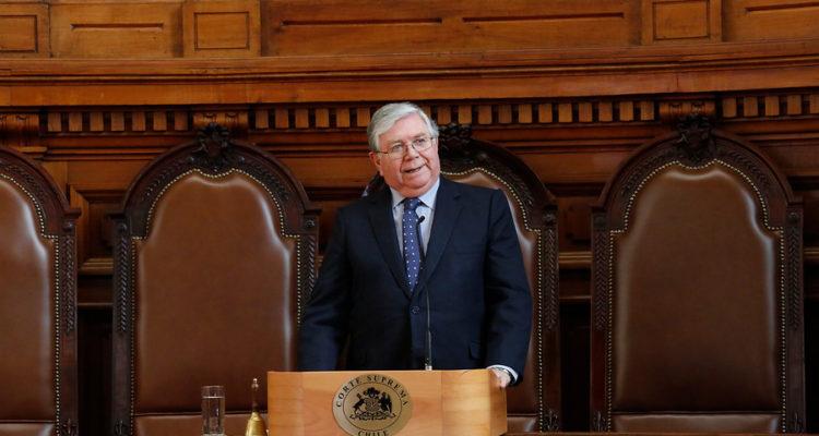 ARCHIVO   Vocero de la Corte Suprema, Lamberto Cisternas   Sebastián Brogca   Agencia Uno