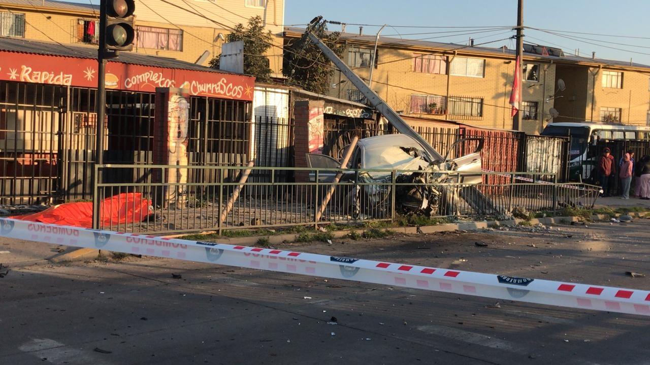 Accidente en San Ramón