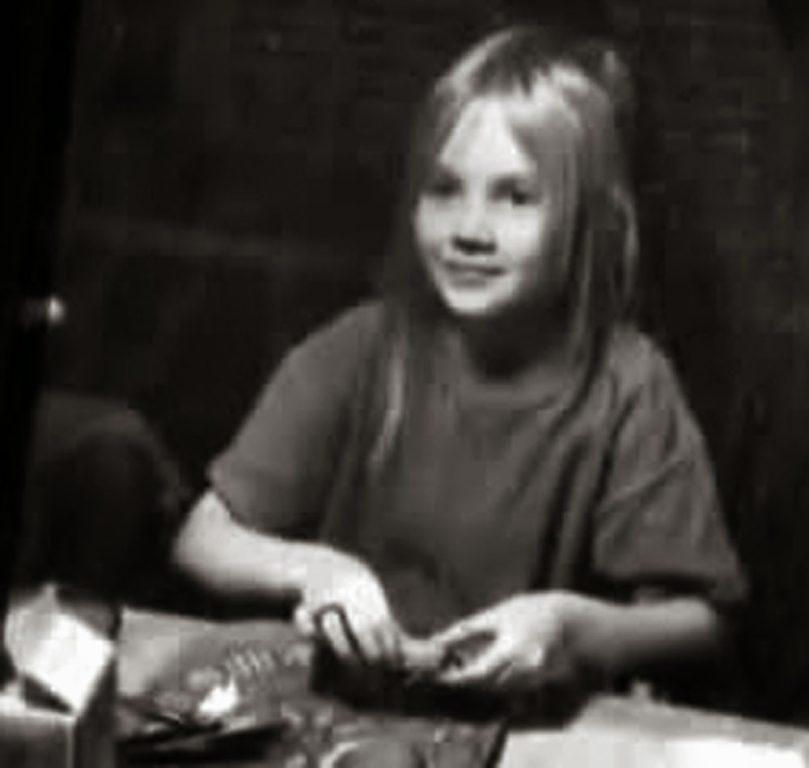 Brenda como niña