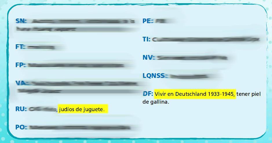 Captura del anuario de la generación 2017 del Colegio Alemán de Concepción. Página 221.