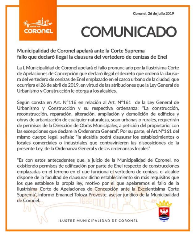 comunicado-municipalidad-de-coronel