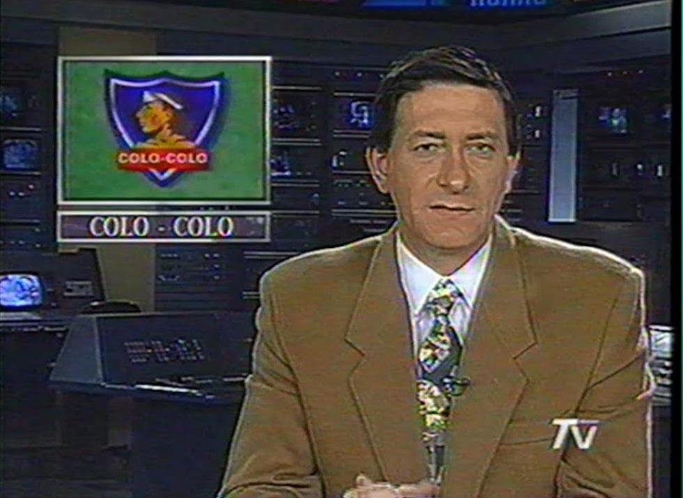 Benjampin Palacios en TVN