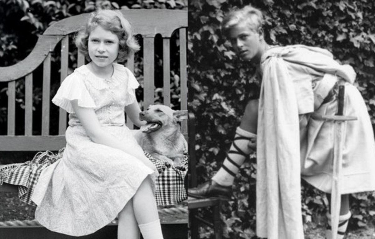 Isabel y Felipe en la infancia