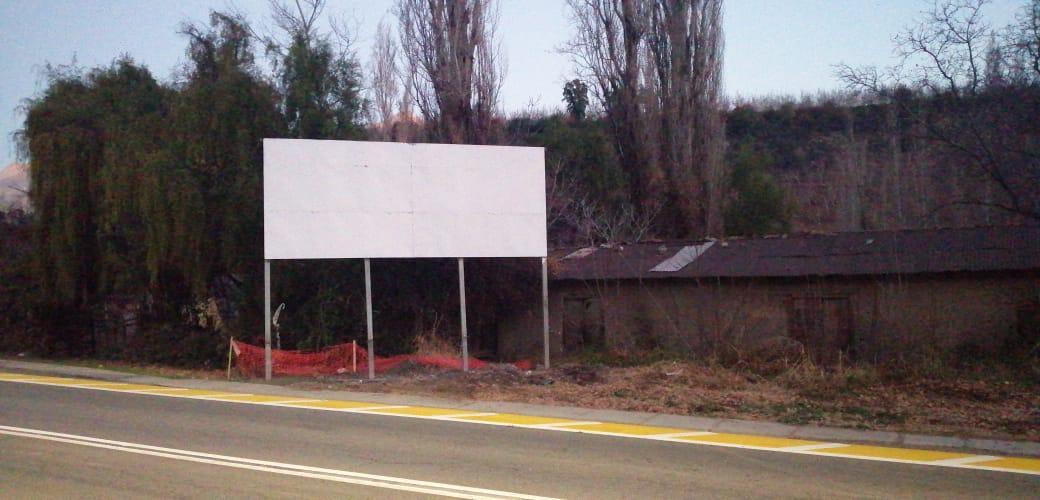 Acá el letrero pintado | Gobernación de Los Andes