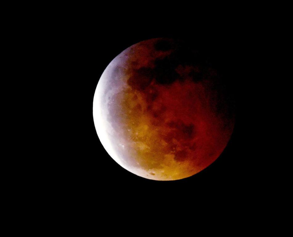 Superluna de sangre de enero de 2019 | Kevin Winter | Agence France-Presse