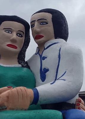 Monumento de los enamorados, Sociedad de Escultores de Chile (c)