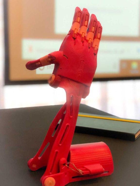 Campaña Fundación Prótesis 3D