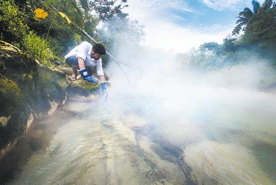 Ruzo en el río Hirviente | Sofía Ruzo