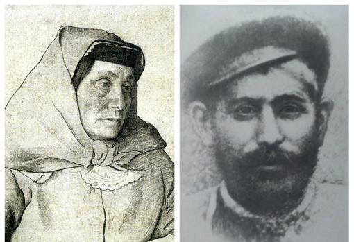 Los padres de Stalin | Wikiemedia Commons