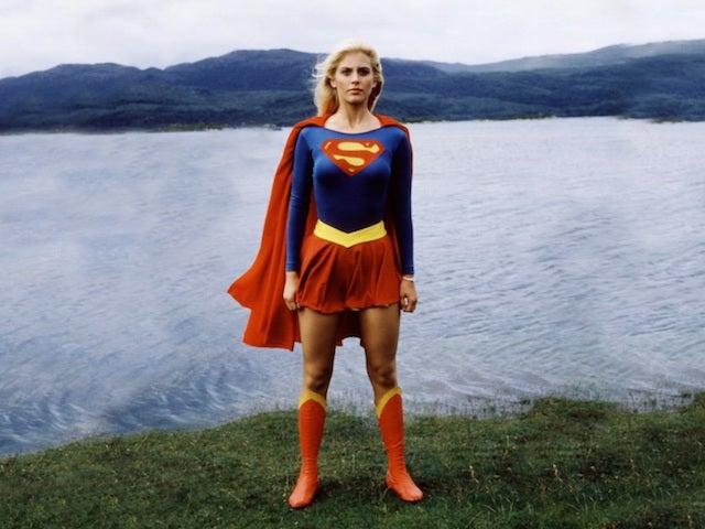 Helen Slater en supergirl en 1984