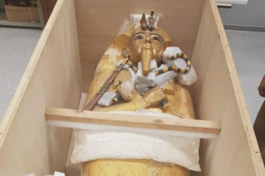 MINISTERIO DE ANTIGÃœEDADES DE EGIPTO