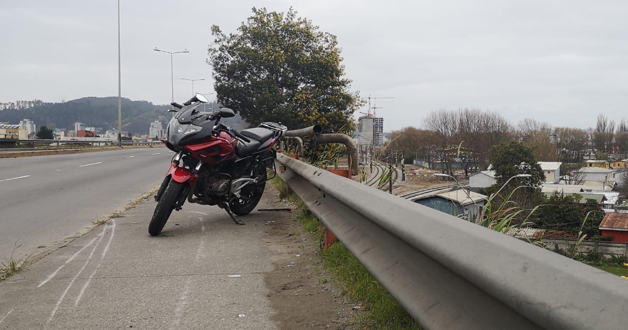 Accidente en Concepción