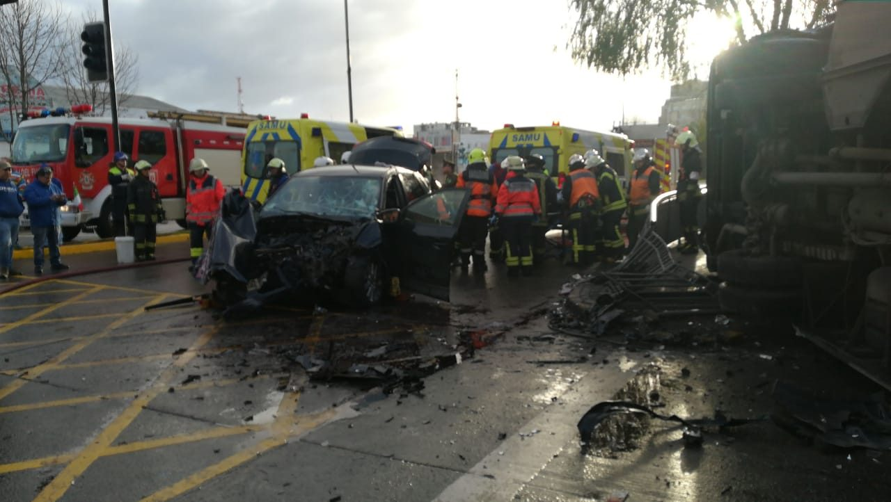 Accidente en Concepción