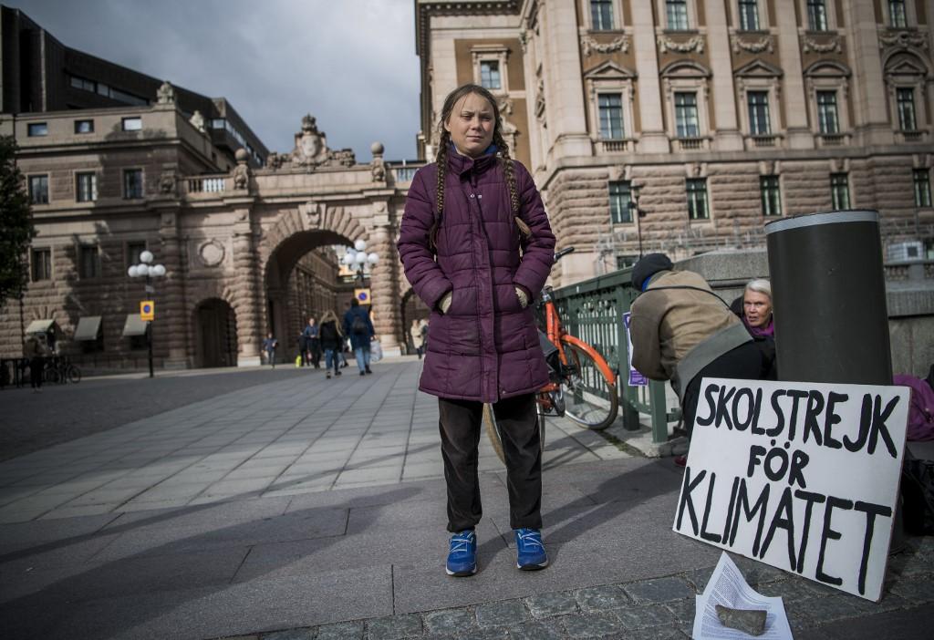 La protesta de Greta Thunberg en Suecia | Agence France Presse