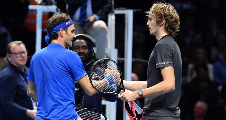Aseguran que Zverev será el rival de Federer en partido de exhibición en Chile