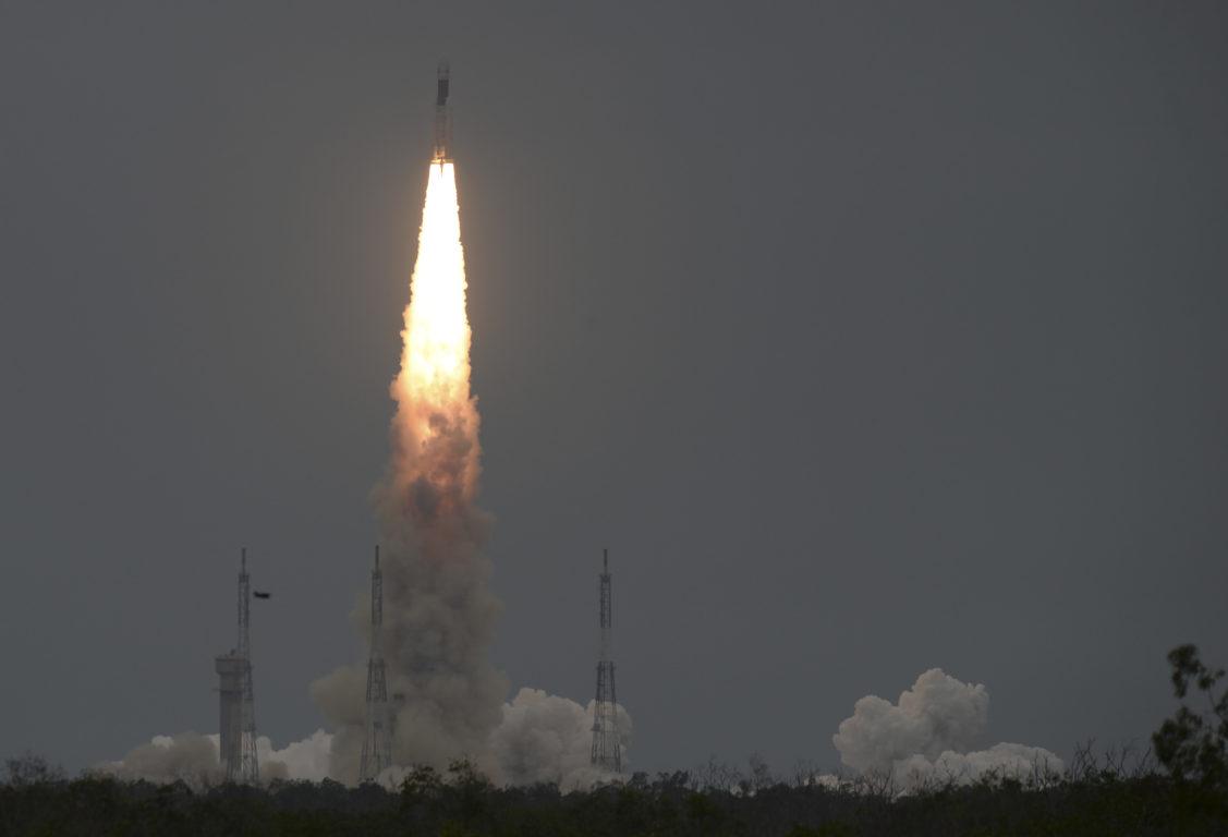 Lanzamiento del cohete que transportaba a Chandrayaan-2 | Arun Sankar | Agence France-Presse