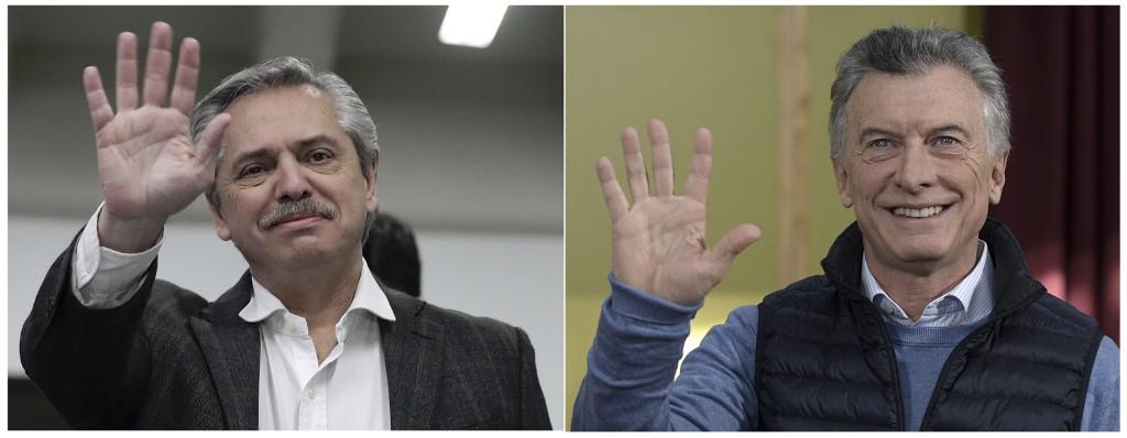 Juan Mabromata y Alejandro Pagni | Agence France-Presse