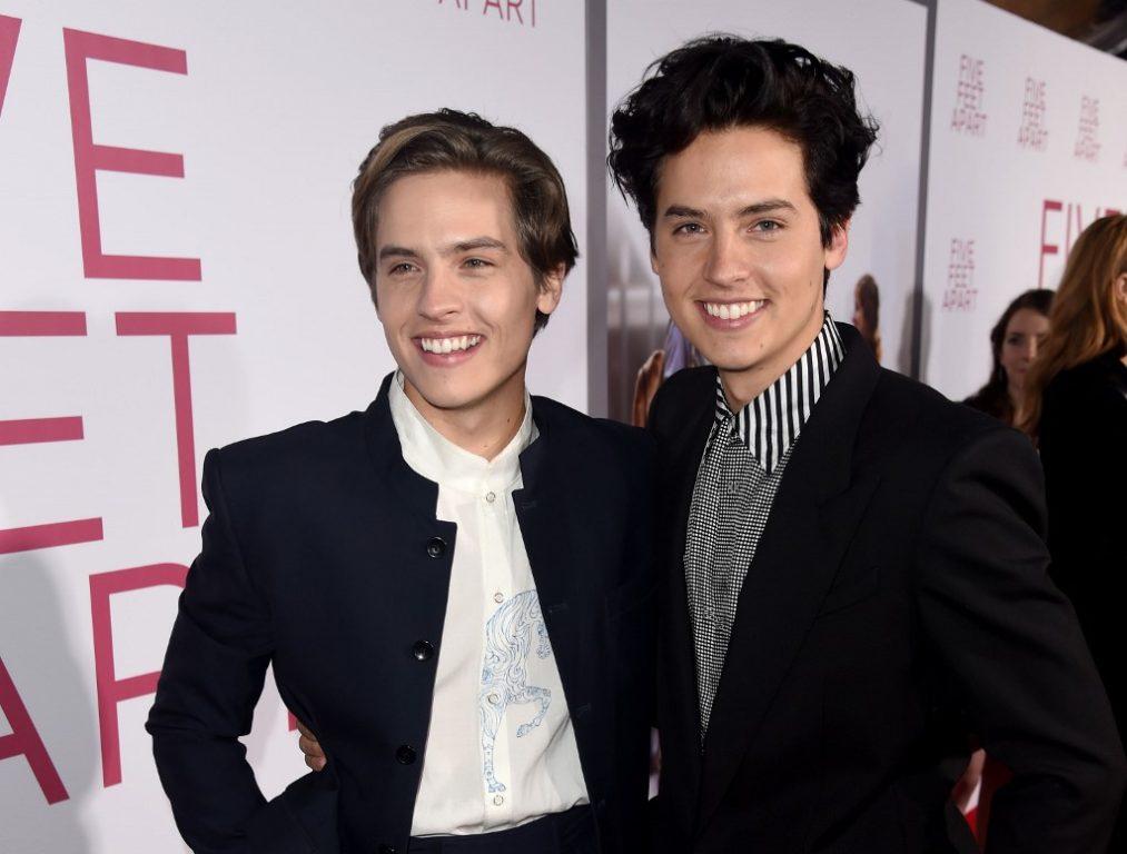 Dylan y Cole en marzo de 2019 | AFP