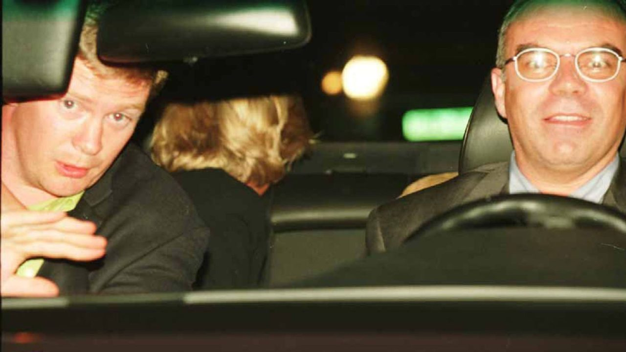 Trevor y Paul (al volante)