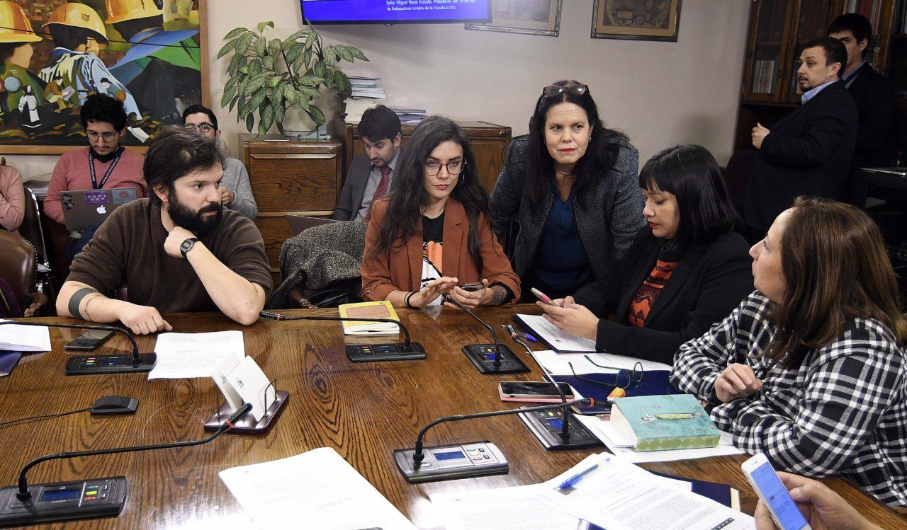 Comisión de Trabajo de la Cámara | Pablo Ovalle | Agencia UNO