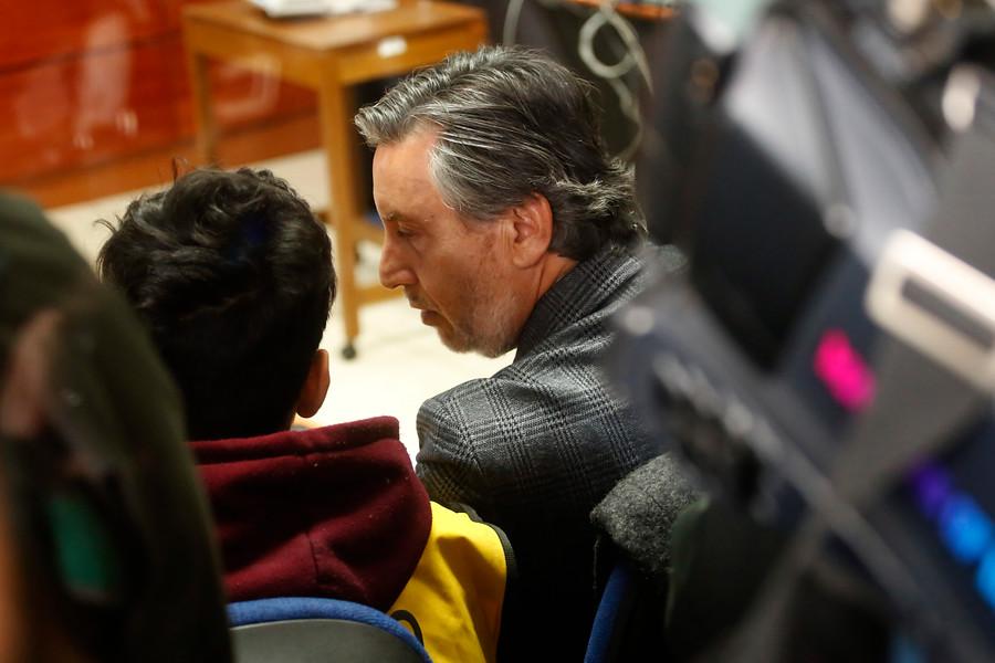 Ulises Labrín junto a su abogado defensor | AgenciaUNO