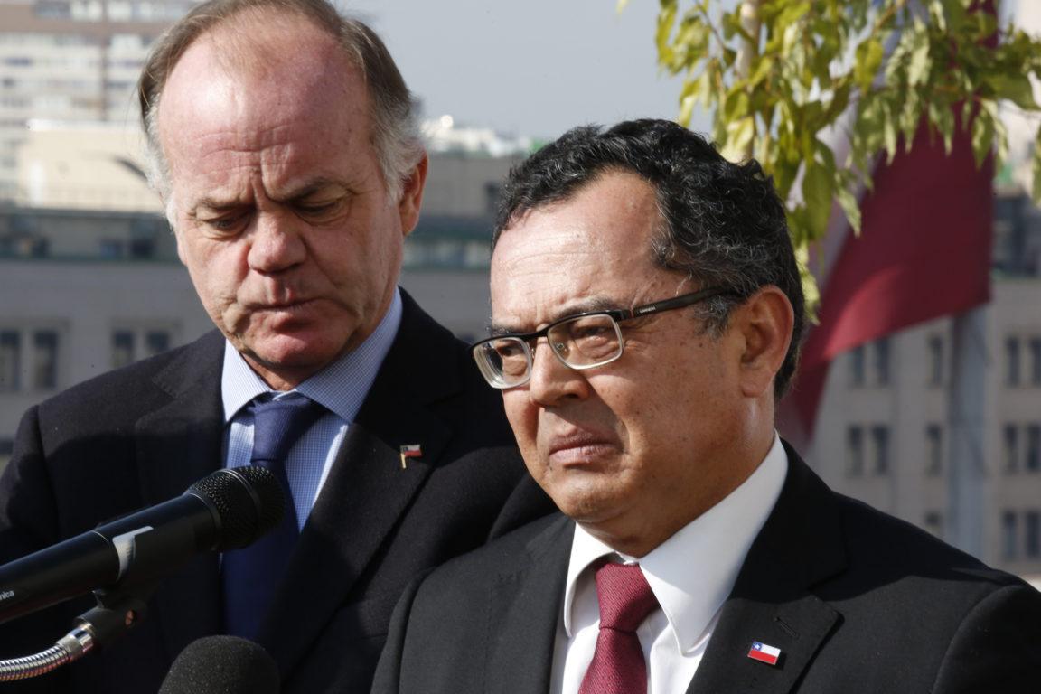 Ministro e intendente   Sebastián Brogca   Agencia UNO