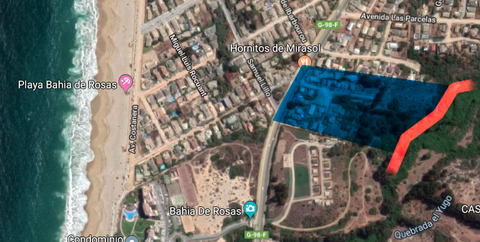 Aurelio Catalán en azul | Google Maps