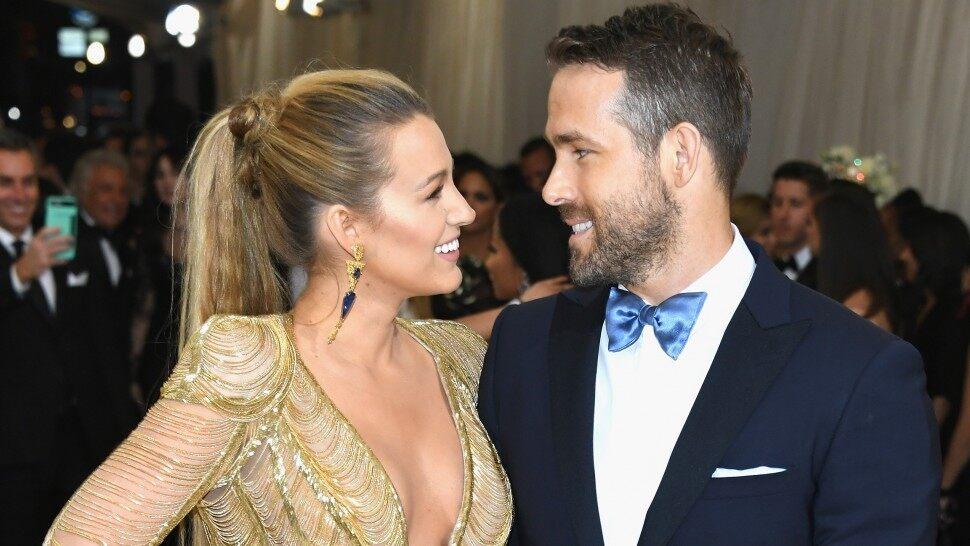 Ryan Reynolds saludó de manera muy polémica a su esposa, Blake Lively.