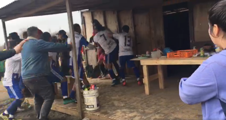La pelota no se mancha: la brutal pelea que ensució el fútbol amateur en San Pedro de la Paz