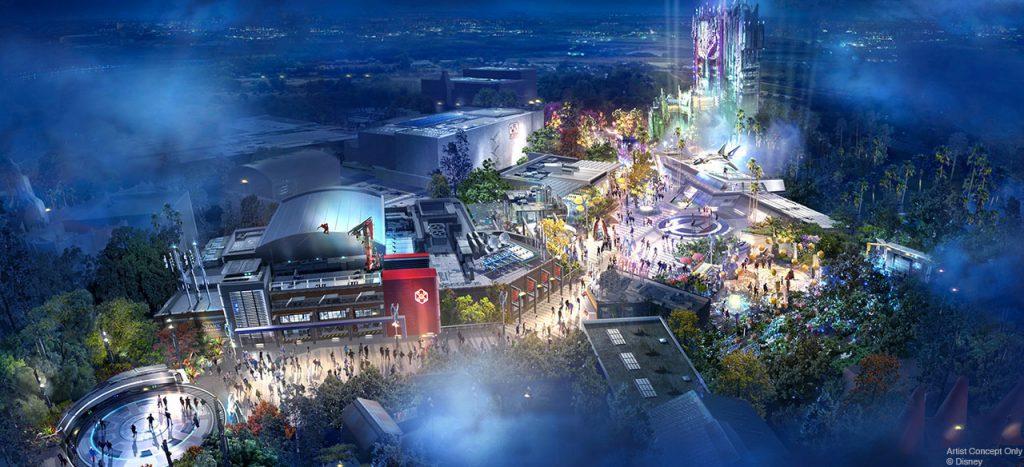 Así lucirán los Avengers Campus en parques de Disney