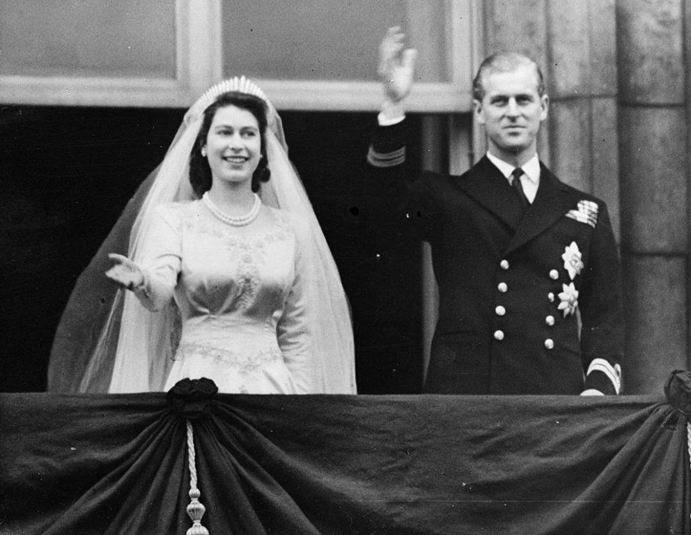 Felipe e Isabel en su boda