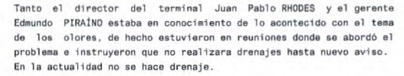 Extracto de declaración del prevencionista Hugo Salas.