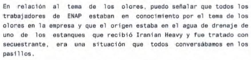 Extracto de declaración de Hugo Salas