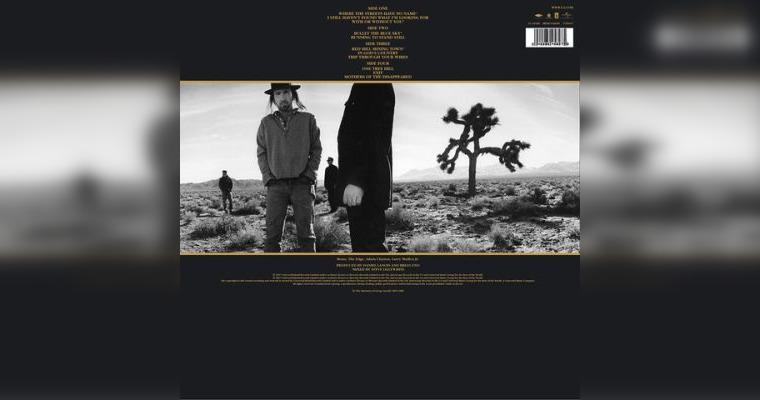 """The Joshua Tree"", U2"