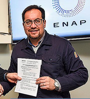 Juan Pablo Rhodes, director del Terminal Marítimo ENAP Quintero | enap.cl