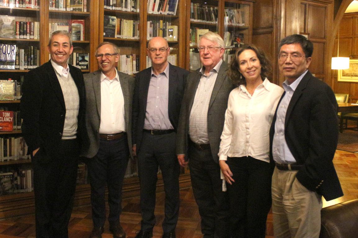 Pablo Moreno, Miguel del Río, Dave Gaynor, Leonard Blackwell , Mariella Bissone y Yu-Ge | FemCheck