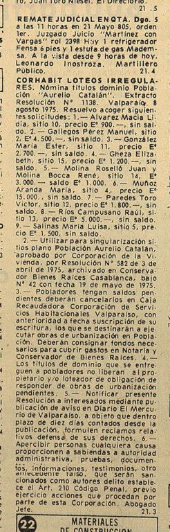 El Mercurio de Valparaíso